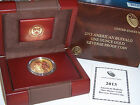 2013 W 50 1 oz 9999 Fine Reverse Proof Gold Buffalo in OGP and COA