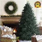 Christmas Tree Spruce 6.5 Artificial Plant Branches Hinged Holida Decor Home New