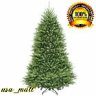 Christmas Holida Tree Artificial 6.5 Fir Plant Branches Hinged Decor Home New