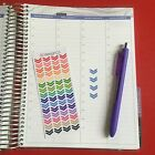 60 Arrow Strip Planner Stickers for All Types of Planners 100