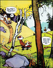 Calvin and Hobbes Never Enough Time Print Poster
