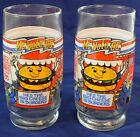 Set of 2 McDonald's McVote 86 Collectible Glasses