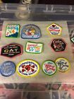 Lot Of 32 Girl Scout Patches Cookies
