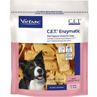 CET Enzymatic Oral Hygiene Chews for Large Dogs 25 50lbs Virbac