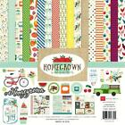 Echo Park Paper HOMEGROWN 12x12 Collection Kit Gardening Farming Scrapbook