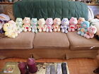 Vintage 1980s Lot of 13 Kenner Plush Care Bears - Very Good Condition!
