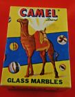 Collectors Box Camel Brand Glass Marbles Made in Taiwan NR