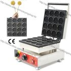 Commercial Nonstick Electric Mini Round Waffle Stick Maker Iron Baker Machine