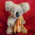 Vintage Koala Bear Musical Real Fur Plays Waltzing Matilda