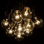 25Ft Globe String Lights with 25 G40 Bulbs Vintage Patio Garden Light string for