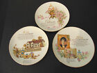 Avon  Anniversary plates  10th 15th and 20 years  22k Gold Trim