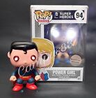 Funko Pop! BRIGHT LED Superman Power Girl NightVision Exclusive Lot!