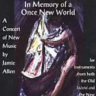 Concert of New Music By Jamie Allen CD
