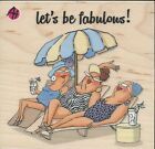 Beach Babes Rubber Stamp by Art Impressions