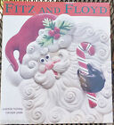 Brand New in Box Fitz and Floyd Santa Claus Yuletide Holiday Canape Cookie Plate