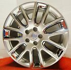 Cadillac ATS 19 STAGGERED GENUINE GM ACC WHEELS ULTRA SILVER W CHROME INSERTS