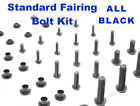 Black Fairing Bolt Kit body screws fastener for Suzuki GSX 600F 1988 1989 Katana