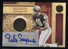2011 GOLD STANDARD GOLDEN AGE 14K GOLD AUTO GALE SAYERS 08 10 CHICAGO BEARS