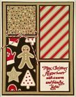 Christmas card making kit of 4 May Christmas fill your heart Stampin Up