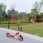 Folding Kick Scooter Kids/Adult 2 Wheels Outdoor Ride Push Exercise W Seat Z3A8