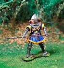 COLLECTORS SHOWCASE AGINCOURT KNIGHTS CS00796 ENGLISH MAN AT ARMS WITH LANCE MIB