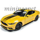 AUTOWORLD AW229 2016 16 FORD MUSTANG GT 50 1 18 DIECAST MODEL CAR YELLOW