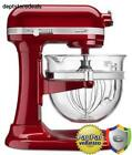 KitchenAid Professional 6500 Design Series Candy Apple Red Bowl-Lift Stand Mixer