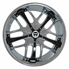4 GWG Wheels 18 inch Chrome Black SAVANTI Rims fit 5x1143 LEXUS RX 350 2010 16