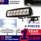 4X18w Led Work Light Bar 12V 24V Lovol Tractor Boat ATV SUV Motorcycle Spotlight