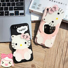 Hello Kitty Silicon Cover Case For iPhone 6 6S Plus 7 plus with Mirror Gift Cute