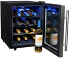 Wine Cellar Cooler 12-Bottle Fridge Storage Thermoelectric Stainless Standing