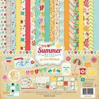 Echo Park SUMMER BLISS 12x12 Collection Kit Sun Beach Scrapbook Pocket Page