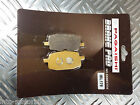 SEMI METAL FRONT BRAKE PADS FOR LIFAN LF 50 QGY F