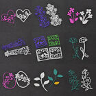 Various Shape Cutting Dies Stencil DIY Paper Card Scrapbooking Embossing Craft