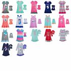 Girl 4 14 and 18 Doll Matching Nightgown Clothes fit American Girl Dollie