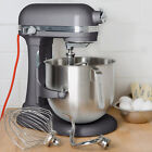 KitchenAid KSM8990DP Dark Pewter NSF 8 Qt. Bowl Lift Commercial Countertop Mixer