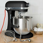 KitchenAid KSM8990OB Onyx Black NSF 8 Qt. Bowl Lift Commercial Countertop Mixer
