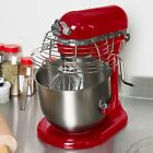 KitchenAid KSMC895ER Empire Red NSF 8 Qt. Bowl Lift Commercial Countertop Mixer