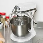 KitchenAid KSMC895WH White NSF 8 Qt. Bowl Lift Commercial Countertop Mixer