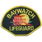 Baywatch Logo Sew Ironed On Badge Embroidery Applique Patch 45