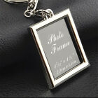 New Insert Photo Picture Frame Keyring Key Ring Keychain Ideal Souvenir