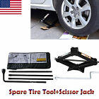 Chevy GMC Silverado Sierra Spare Tire Tool Kit with Scissor Jack 2T Speed Handle
