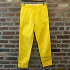Levis Vintage Clothing LVC Slim Tapered Leg Yellow Cotton Trousers Mens 29