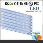 10 100 Pack 18W 4 Foot LED T8 Replacement Tubes 4ft Fluorescent Lamp 6500K White