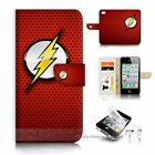 ( For iPhone 4 4S ) Flip Case Cover S9518 Flash