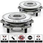 2x 01 04 Chevrolet Tracker 4WD Replacement Front Wheel Hub Bearing w Stud ABS