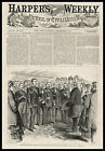 Grand Duke Alexis On Board The Mary Powell 1871 antique wood engraved print