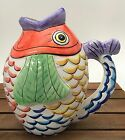 Tabletops Unlimited PESCADA Figural Fish Beverage Pitcher