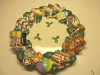 FITZ AND FLOYD TOYLAND CANAPE PLATE