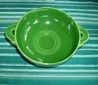 Vintage Fiesta FOREST GREEN Cream Soup Bowl ~